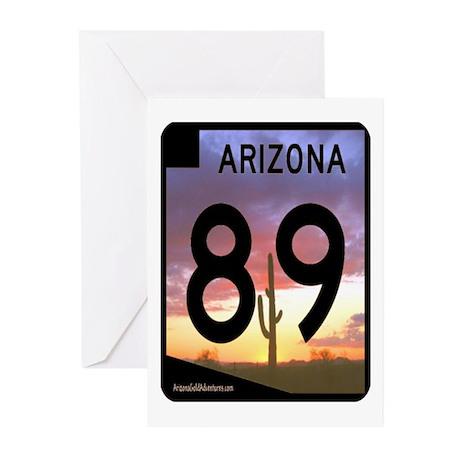 Arizona Gold Prospecting Greeting Cards (Pk of 10)