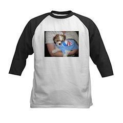 Dogs for Obama Kids Baseball Jersey