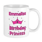 1st Birthday Princess Emmalis Mug