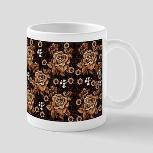 Copper Roses 11 oz Ceramic Mug