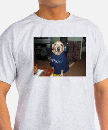 Yellow Dogs for Obama T-Shirt