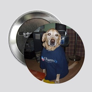 """Yellow Dogs for Obama 2.25"""" Button"""