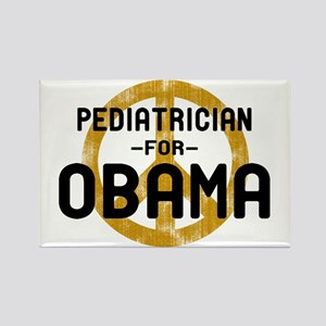 Pediatrician for Obama Rectangle Magnet