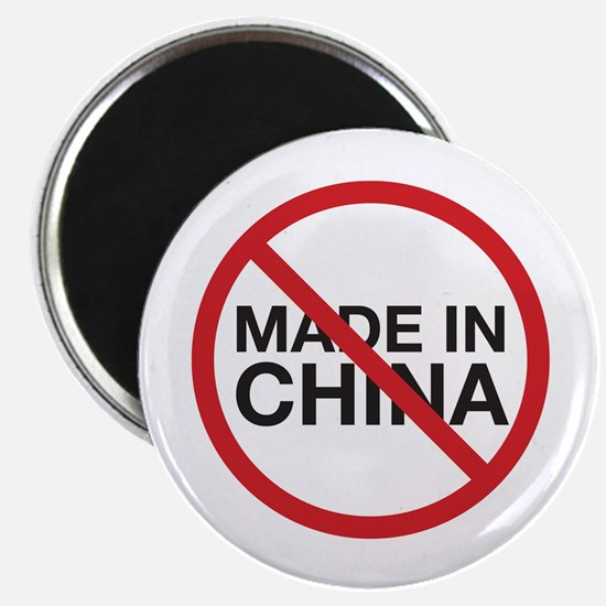 """Not Made in China 2.25"""" Magnet (10 pack)"""
