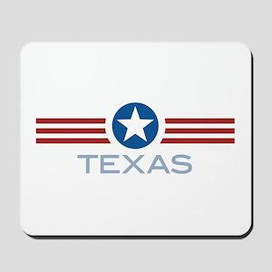 Star Stripes Texas Mousepad
