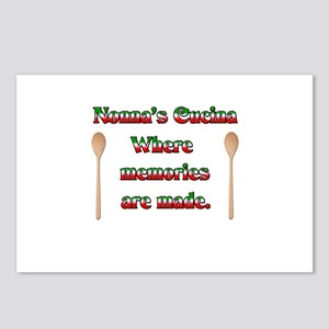 Nonna's (Italian Grandmother) Cucina Postcards (Pa