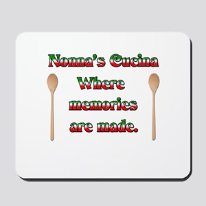 Nonna's (Italian Grandmother) Cucina Mousepad
