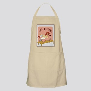 Pig Out Time BBQ Apron