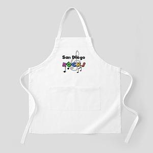 San Diego Rocks BBQ Apron