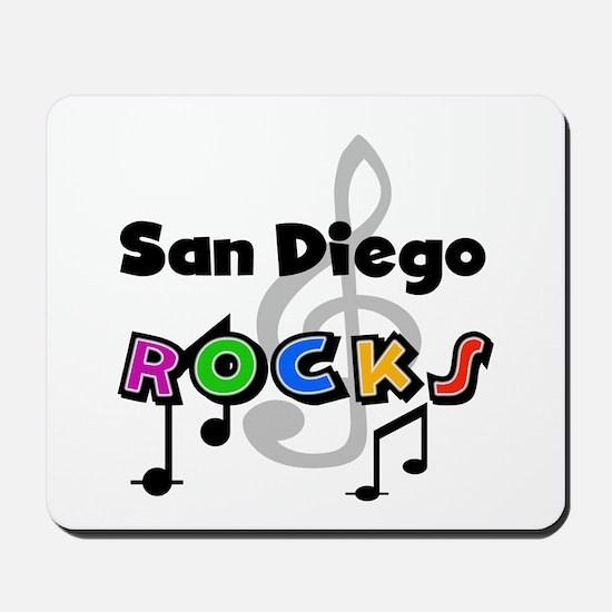 San Diego Rocks Mousepad