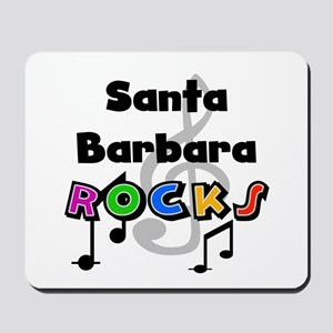 Santa Barbara Rocks Mousepad