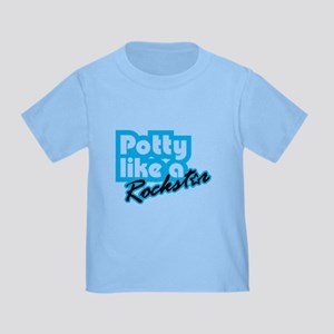 Potty Like A Rockstar Toddler T-Shirt