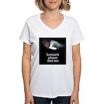 Leonard please find me Women's V-Neck T-Shirt