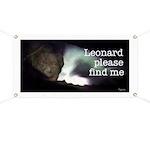 Leonard please find me Banner