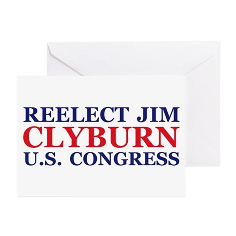 Reelect Clyburn Greeting Cards (Pk of 20)