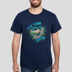 RaceFashion.com skulls Dark T-Shirt
