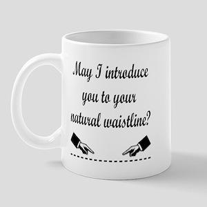 Natural Waistline Mug