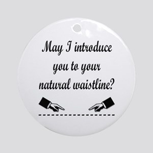Natural Waistline Ornament (Round)
