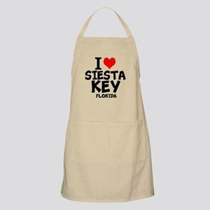 I Love Siesta Key, Florida Light Apron