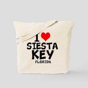 I Love Siesta Key, Florida Tote Bag