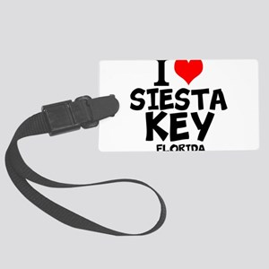 I Love Siesta Key, Florida Luggage Tag