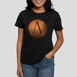 Spartan Shield w/ Lambda Women's Dark T-Shirt