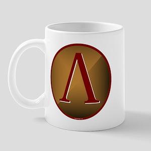 Spartan Shield w/ Lambda Mug
