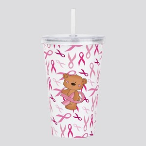 Breast Cancer Awarenes Acrylic Double-wall Tumbler