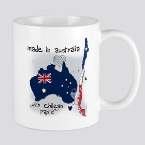 made in australia with chilean parts cool2 Mugs