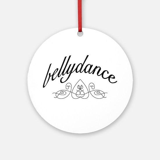 Bellydance (turkish heart des Keepsake (Round)