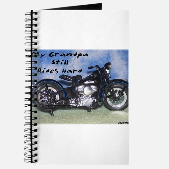 My Grandpa Still Rides Hard Journal