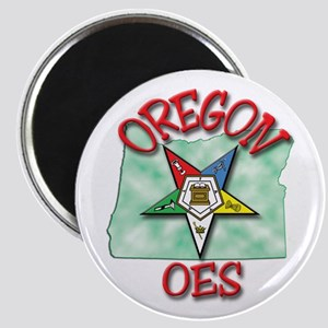 "Oregon Eastern Star 2.25"" Magnet (10 pack)"