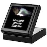 Leonard please find me Keepsake Box