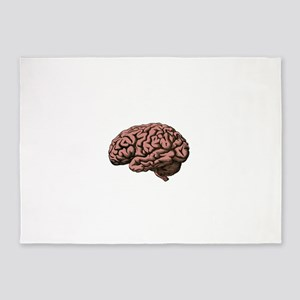 Brain 5'x7'Area Rug