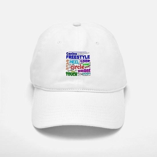 Canine Freestyle Baseball Baseball Cap