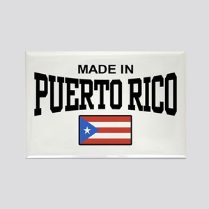 Made in Puerto Rico Rectangle Magnet