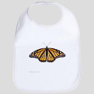 Big Monarch Butterfly Bib
