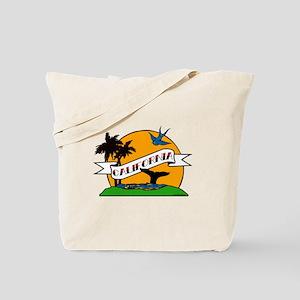 Vintage California Tattoo Tote Bag