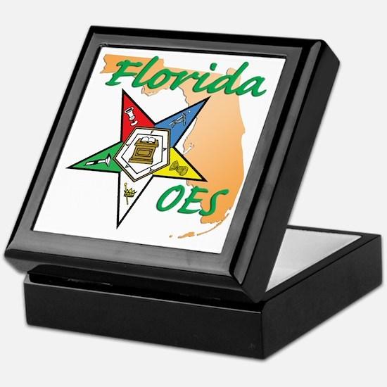 Florida Eastern Star Keepsake Box