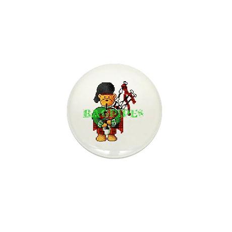 Bagpipes Mini Button