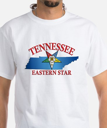 Tennessee Eastern Star White T-Shirt