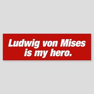 Ludwig von Mises Bumpersticker