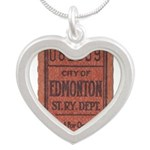 Edmonton Streetcar Railway Ticket Necklaces