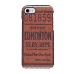 Edmonton Streetcar Railway Ticket iPhone 8/7 Tough