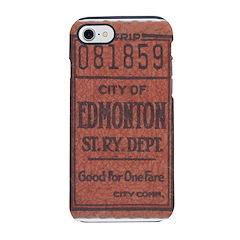 Edmonton Streetcar Railway Ticket iPhone 8/7 Tough