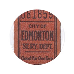 Edmonton Streetcar Railway Ticket 3.5