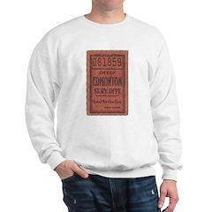 Edmonton Streetcar Railway Ticket Sweater