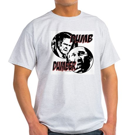 Bush Dumb and Dumber Ash Grey T-Shirt