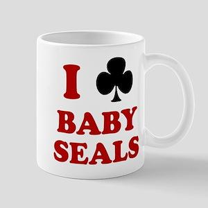 I Club Baby Seals Mug
