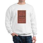 Edmonton Streetcar Railway Ticket Sweatshirt
